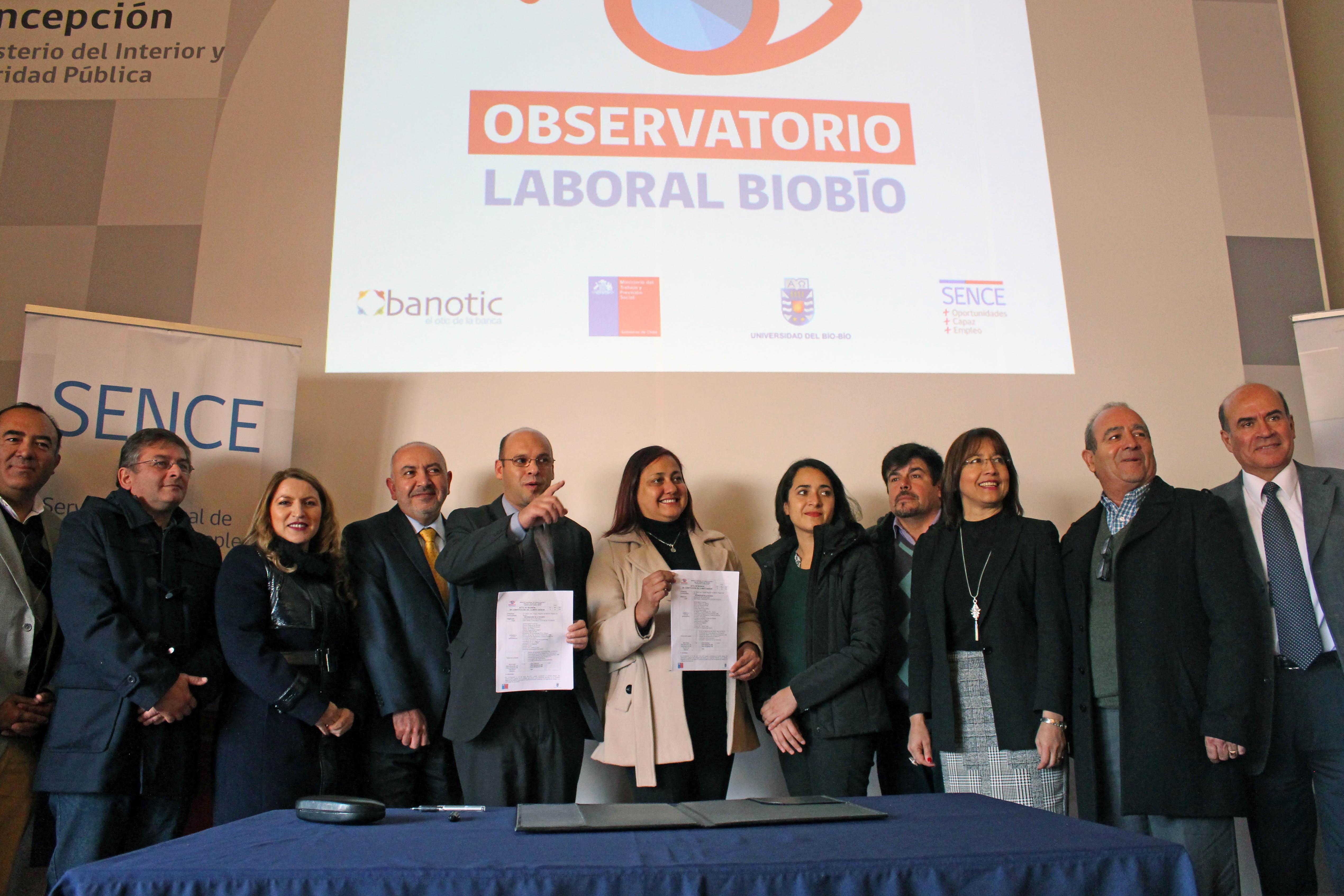 Constituyen Comité Asesor del Observatorio Laboral del Biobío, proyecto liderado por académicos del Departamento